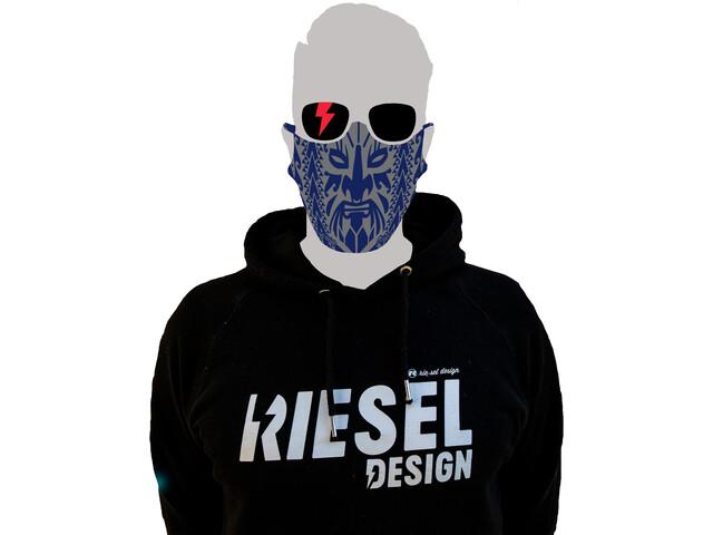 Riesel Design Masque, maori navi blue